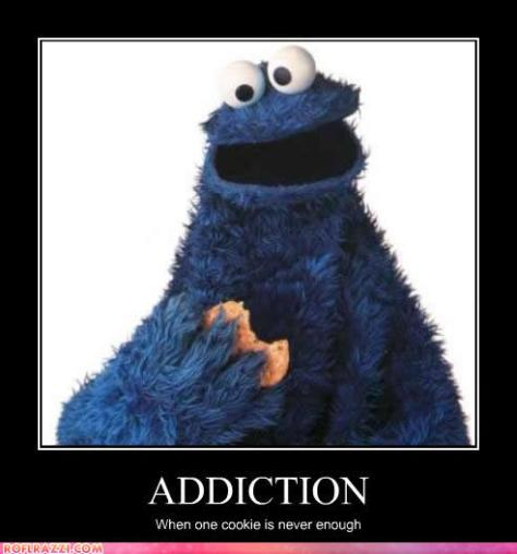 cookie monster addiction