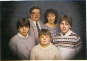 The Hoffman's, about 1985