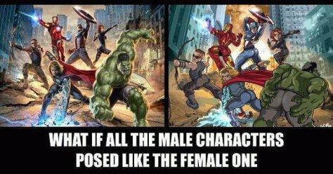 avengers pose